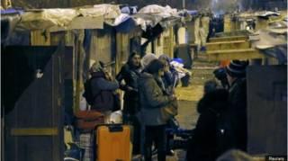 Цыгане в Париже