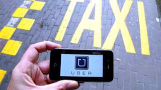 Мобильное приложение для поиска, вызова и оплаты такси или частных водителей Uber