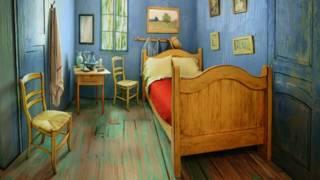 """Recreación de """"La habitación"""" de Van Gogh"""