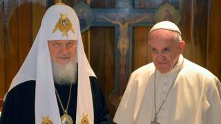 El Patriarca Kirill y el Papa Francisco
