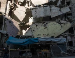 Бомбардировки Алеппо