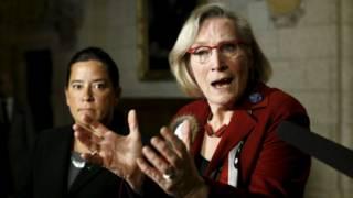 加拿大原住民事务部部长贝内特