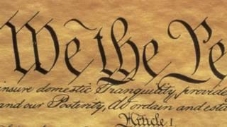Первая страница Конституции США