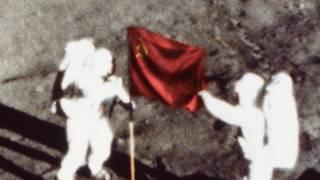 Космонавты могли бы установить на Луне советский флаг