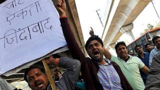 Como a revolta de uma casta deixou 10 milhões de pessoas sem água na Índia