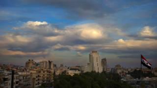 Небо над Дамаском