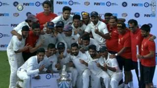 मुंबई ने जीती रणजी ट्रॉफ़ी