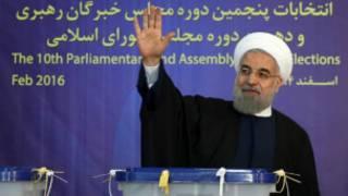 Hassan Rouhani na kasar Iran