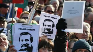 митинг в гданьске
