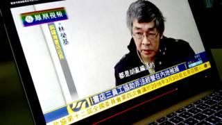 資料圖片:銅鑼灣書店店長林榮基接受採訪