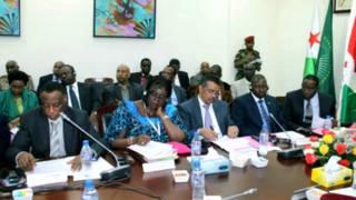 Abaserukiye ibihugu vyabo mu nama ya AMISOM i Djibouti