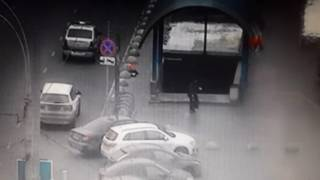 Кадр видео с задержанием