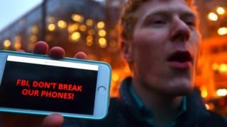 Протесты сторонников Apple