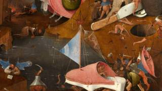 Фрагмент картины Босха
