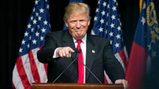 သမ္မတလောင်းဖြစ်ဖို့ မဲဆွယ်နေတဲ့ Donald Trump