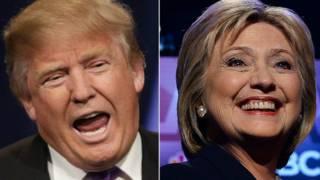 انتخابات آمریکا: کلینتون پیشتاز و منتقدان ترامپ منتظر معجزه