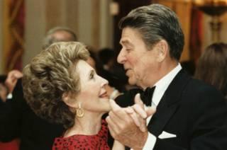 Нэнси и Рональд Рейганы