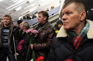 Траурная церемония прощания с горноспасателями в Воркуте