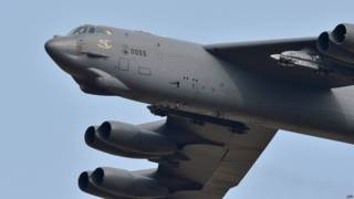 美軍B-52戰略轟炸機(資料照片)