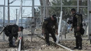 Македонская граница