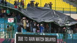 धर्मशाला स्टेडियम, नीदरलैंड्स-ओमान मैच रद्द