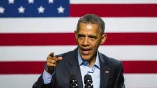 現任總統奧巴馬告誡參選人不要再於競選活動中挑起憤怒。