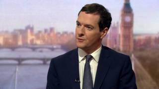 Menkeu Inggris George Osborne
