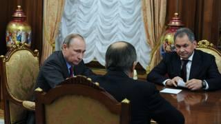 Встреча Путина с Лавровым и Шойгу