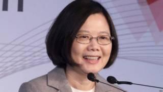 台湾新任总统蔡英文