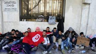 احتجاجات ضد البطالة