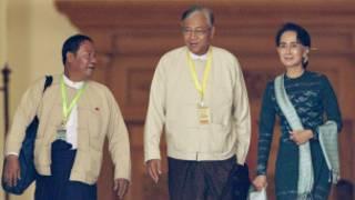 NLD leaders