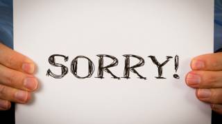 """Sorry"" (""lo siento"")"