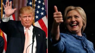 ترامب وكلينتون يعززان فرصهما في خوض السباق الرئاسي الأمريكي