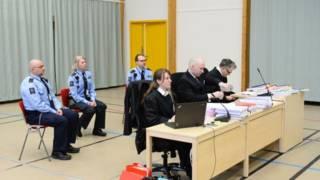 Anders Behring Breivik tại tòa