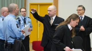 Андерс Брейвик в суде
