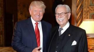 Donald Trump y Anthony Senecal