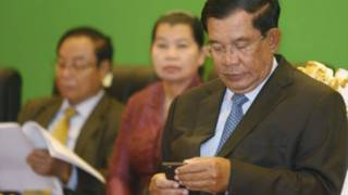 Thủ tướng Hun Sen của Campuchia