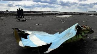 На месте падения лайнера в ростовском аэропорту