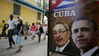 क्यूबा में ओबामा