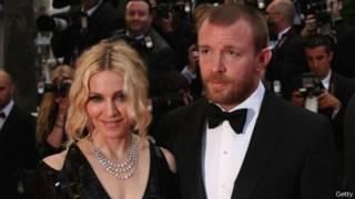 Madonna et le réalisateur Guy Ritchie en 2008 à Cannes, France.