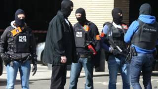 बेल्जियम पुलिस