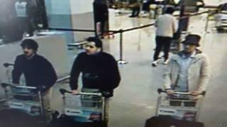 Sospechosos de ataque a aeropuerto en Bruselas