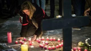 Брюссель после взрывов