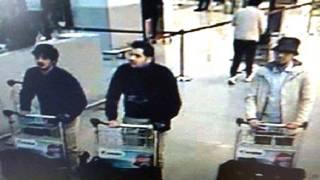 Снимок камеры наблюдения в аэропорту