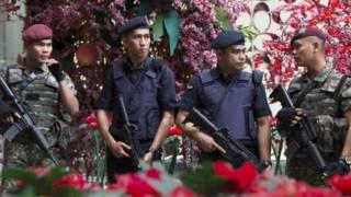 أفراد من الشرطة الماليزية