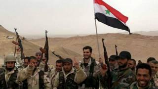 Сирийские войска в Пальмире