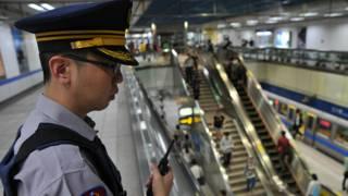 Полицейский в Тайбее
