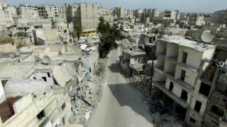 الدمار في حلب بات أقرب إلى ما وقع في غارنيكا الإسبانية بغد قصف الفاشيين لها في الثلاثينيات