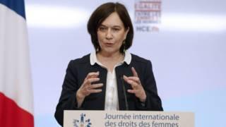 الوزيرة الفرنسية