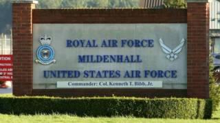 База Королевских ВВС в Милденхолле, восточная Англия